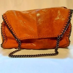 STELLA MCCARTNEY DUPE LEATHER CHAIN BAG!